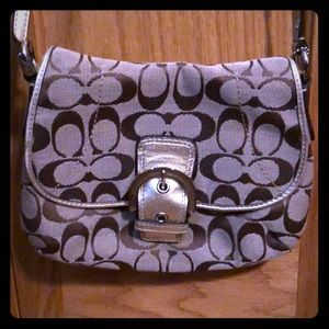 Like new Coach crossbody purse